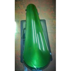 GEWA VIOLIN CASE FORM SHAPED 4/4 GREEN