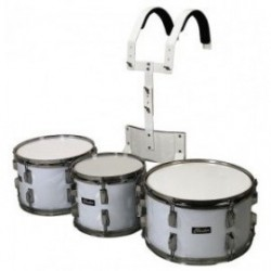 GEWA Parade drum set 10/12/14 White