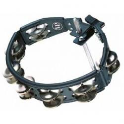 LP Cyclops Jingle Tambourine Black Mount.