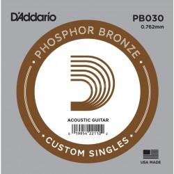 DADDARIO PB030 phosphor br. pojedinačna