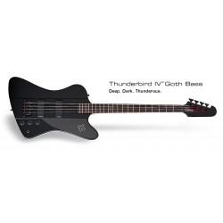 EPIPHONE Goth T-Bird IV Bass PB