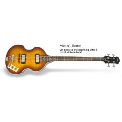 EPIPHONE Viola Bass VS