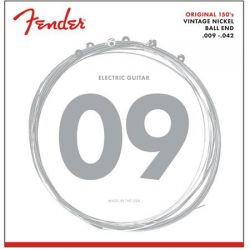FENDER 150L PURE NCKL BALL END 9-42