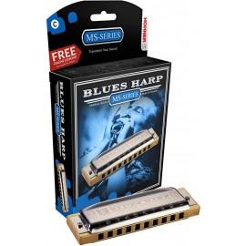 USNA HARMONIKA HOH BLUES HARP A