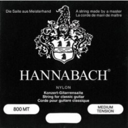 HANNABACH 800MT Black Nylon
