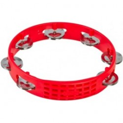 "LP Aspire 8"" Plastic Tambourine Red"