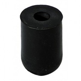 GEWA Floor Protector End pin rubber Black