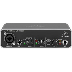 BEHRINGER UMC22 audio interface