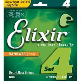 ELIXIR 40-95 NANOWEB 4str.BASS SLT