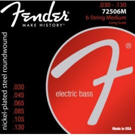 FENDER NPS RW LS 6-STR 7250-6 30-130