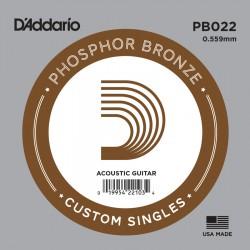 DADDARIO PB022 phosphor br. pojedinačna