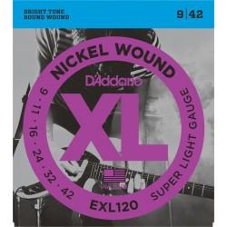 ŽICE D ADDARIO EXL/120