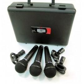 PROEL DM800KIT mikrofoni 3 kom