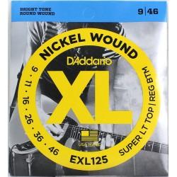 DADDARIO EXL125 žice