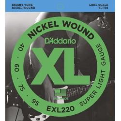 DADDARIO EXL220 BASS 40-95