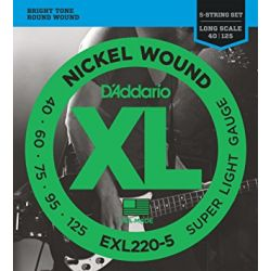 D ADDARIO EXL220-5